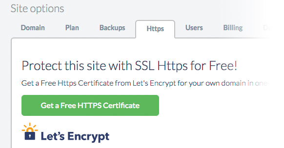 WordPress SSL with Let's Encrypt certificates
