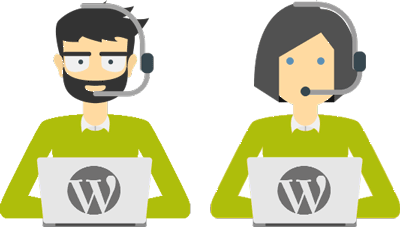 WordPress specialized team