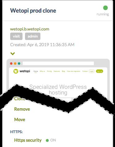Https enabled on development WordPress servers