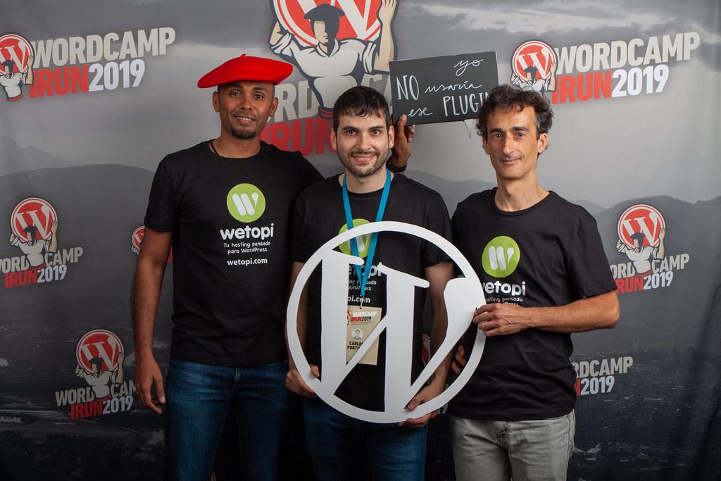 Representando a Wetopi en la WordCamp Irun